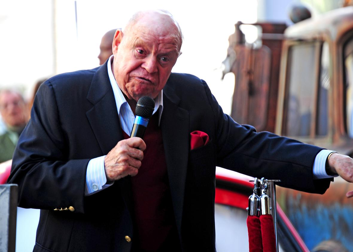 131140774 comedian don rickles speaks at the hollywood walk of - Don Rickles Knew How to Cut People and Leave Them Smiling