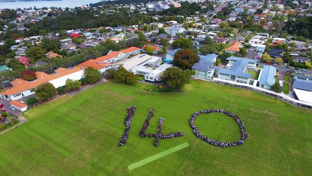 1491522161351 - North Shore's oldest college uses drone image to promote 140th celebrations