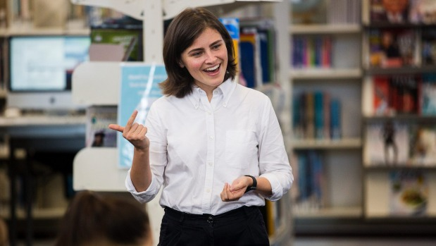1491545919115 - Chloe Swarbrick tells girls they can do anything