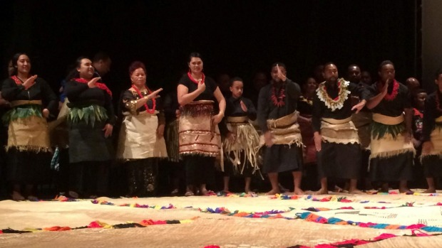 1491630537730 - Tongan royal family attends historic album launch at Auckland's Mangere Arts Centre