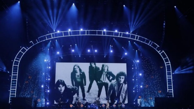 1491689061109 - Pearl Jam, Tupac, Journey and Joan Baez inducted into Rock and Roll Hall of Fame