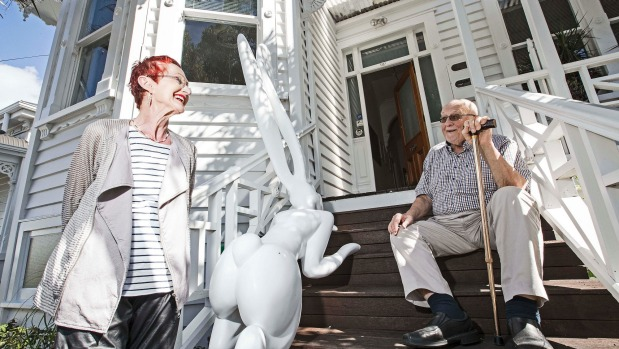 1491863059339 - Art identities farewell their Grey Lynn villa, but their world goes with them