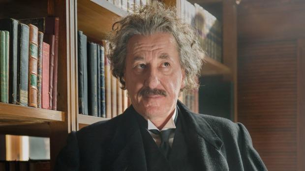 1491877884285 - Genius' Geoffrey Rush describes Einstein as a 'stud muffin theoretical physicist'
