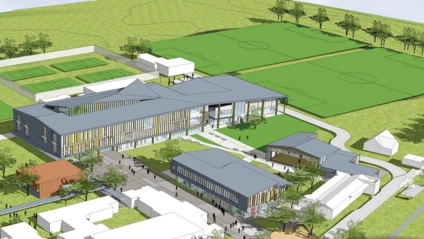 1491961983589 - Two more gyms proposed for New Zealand's largest school rebuild