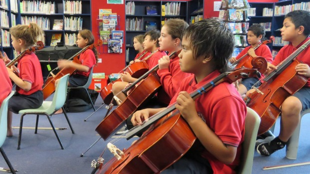 1492053855944 - Confidence shining for new violin and cello students