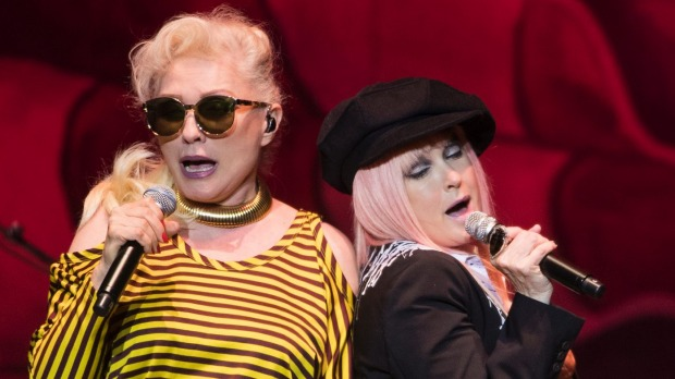 1492309267423 - Review: Blondie and Cyndi Lauper pair up and don't slow down