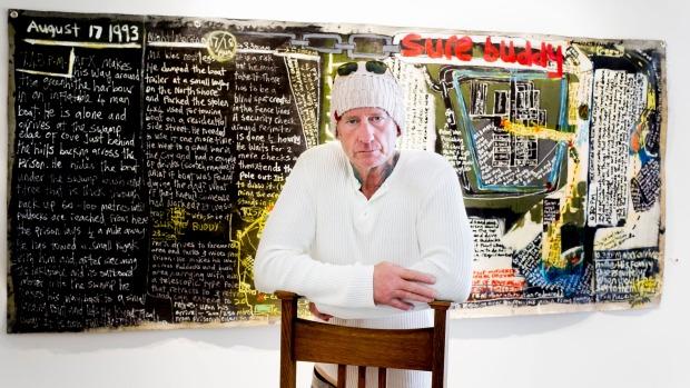 1492360396825 - Former prisoner Simon Kerr reinvents himself as an artist