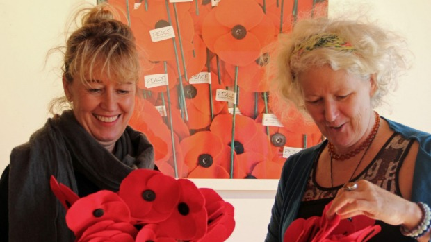 1492551592636 - Poppy peace project set to spend its final Anzac Day on Auckland's North Shore