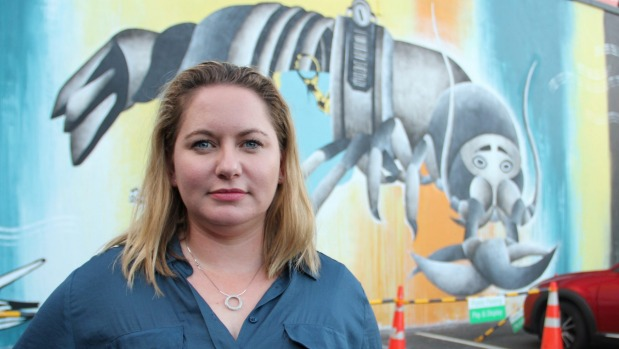 1492558209044 - Confrontational or inoffensive? Crayfish mural sparks art debate in Auckland