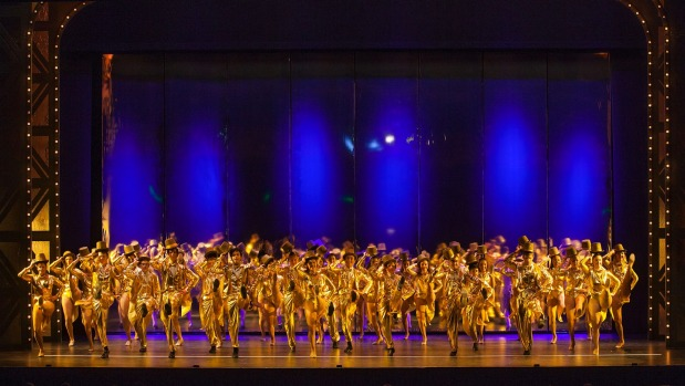 "1492649846501 - ""A Chorus Line"" climaxes in glittering spectacle"