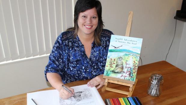 1492765197160 - Kapiti artist spreads her wings for new children's book