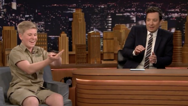 1492832216061 - 'Beaut bonzer!' Robert Irwin is a hit once again on The Tonight Show with Jimmy Fallon