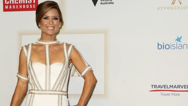 1492957306567 - 'Jacketgate' rears its head as newsreader Amber Sherlock wears white to Logies