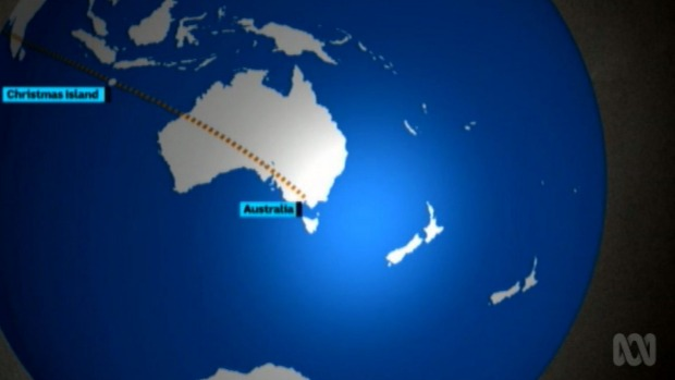 1493268409684 - Australian news bulletin shows a second New Zealand to the east of New Zealand