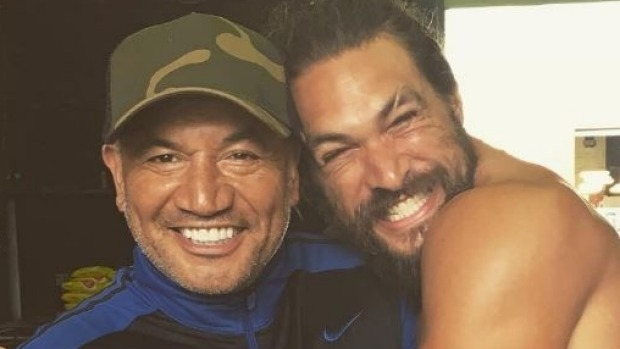 1493344687248 - Aquaman's Jason Momoa shares photo with on-screen father Temuera Morrison