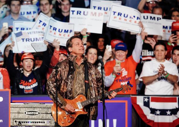 170420 POL Ted Nugent Visit Trump - Donald Trump Is Sending a Message