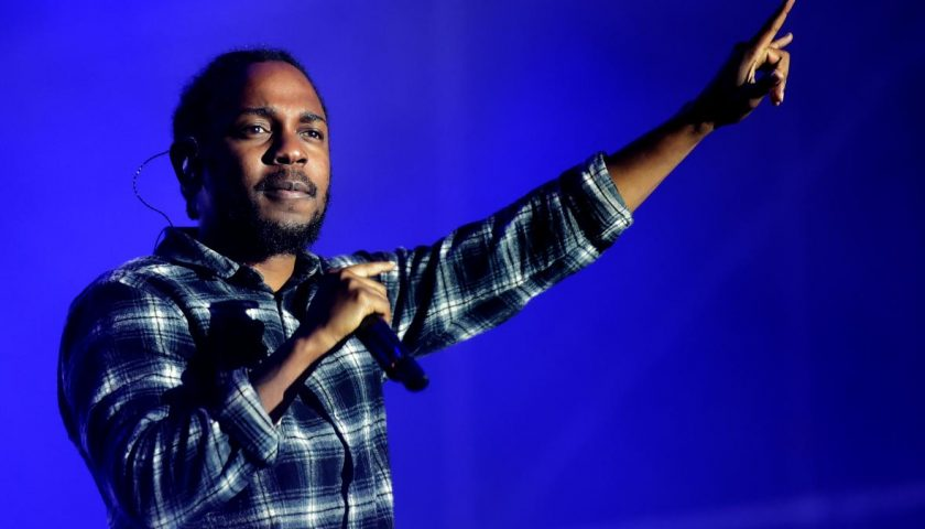 576855628 rapper kendrick lamar performs on the fourth day of the 840x480 - Finally,Kendrick Lamar's New Album DAMN Is Available for Streaming