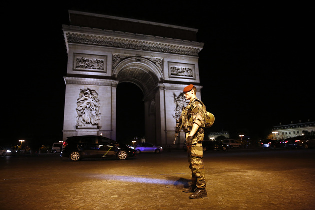 58fa09a58891f paris shooter identified as 39 year old frenchman who was known to police - France Paris Police Shot