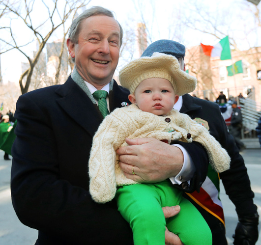 58fa09aed0d95 most irish people are definitely not in favour of a snap election here - Enda Kenny visits US - Day Six