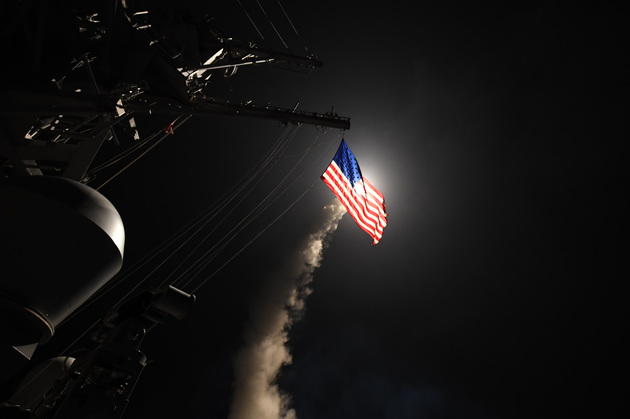 58fb5af4436bd 100 days of trump there has been a great betrayal of vulnerable voters - US Launches Missile Strikes Against Syria