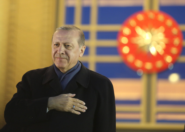 58fcac8239e87 president erdogan the rags to riches champion that europe hoped would steady turkey - President Erdogan Addresses Supporters - Ankara