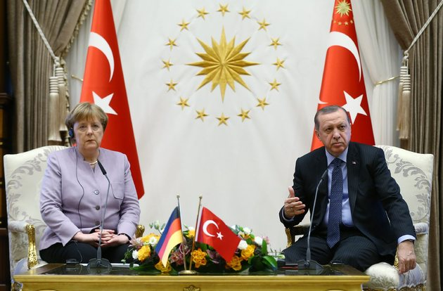 58fcac8271541 president erdogan the rags to riches champion that europe hoped would steady turkey - Erdogan Welcomes Merkel - Ankara