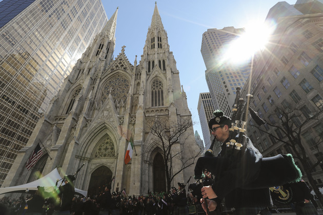58ff500492dbe courage and vision of martin mcguinness remembered at packed new york ceremony - U.S.-NEW YORK-ST. PATRICK