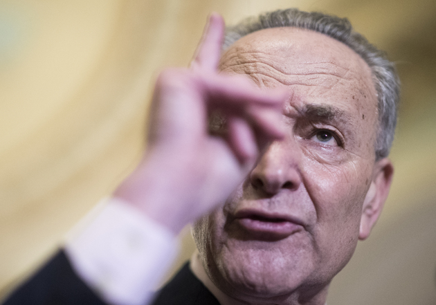 58ff5025e6e44 could a row over trump s wall cause a government shutdown how likely is it - Senate Minority Leader Chuck Schumer