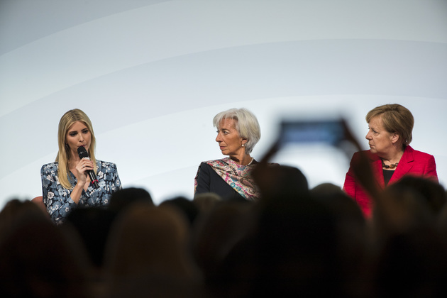 5900a0c551177 poll do you think it s acceptable that ivanka trump was booed at - Germany: Woman 20 Summit in Berlin