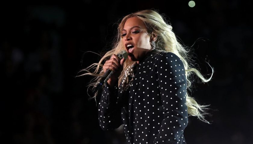 621183058 recording artist beyonce performs during a get out the 840x480 - Beyoncé's Lemonade Was the World's Best-Selling Album in 2016