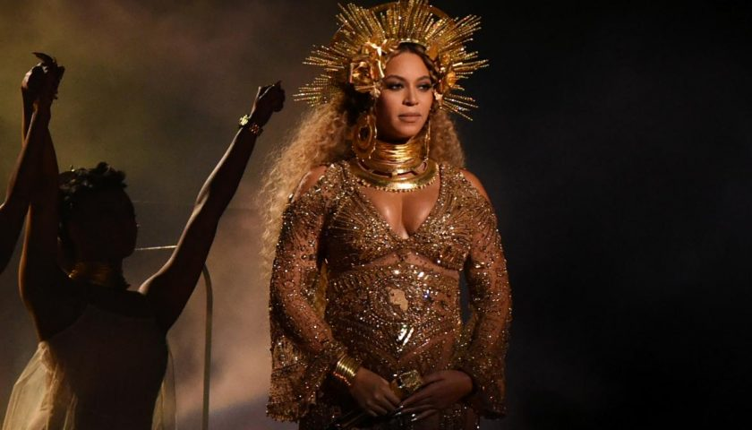 634988266 beyonce performs as she is pregnant with twins during 1 840x480 - Beyoncé Announces a Scholarship Program for Female College Students to Mark Lemonade's One-Year Anniversary