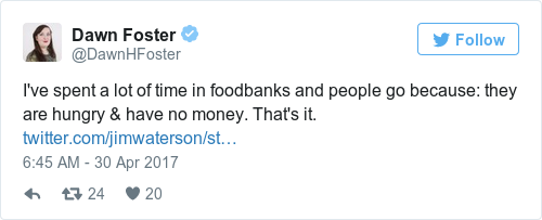 c1cd655a3210aa170bf5ba6dd4c4c8d8 - Theresa May: People use food banks 'for many complex reasons'