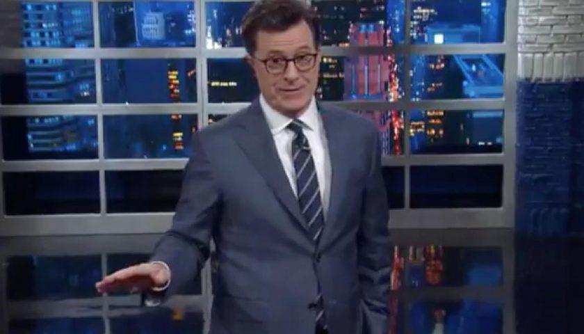 "colbert 1 840x480 - Stephen Colbert and ""Stephen Colbert"" Bid Farewell to Bill O'Reilly"