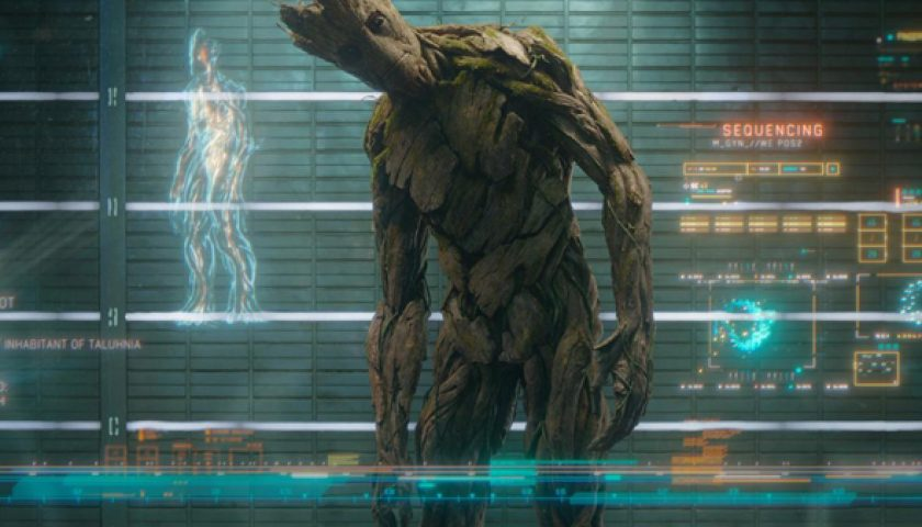 groot 840x480 - James Gunn Will Write and Direct Guardians of the Galaxy Vol. 3