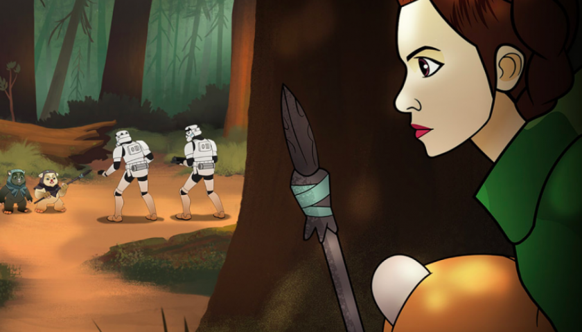 screen shot 20170413 at 1 840x480 - Disney Will Celebrate Princess Leia, Ahsoka Tano, and Other Star Wars Heroines With a New Series of Animated Shorts