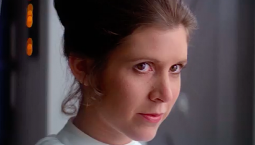 screen shot 20170414 at 8 840x480 - Tributes to the Fierce, Funny Carrie Fisher Pour In at Star Wars Celebration