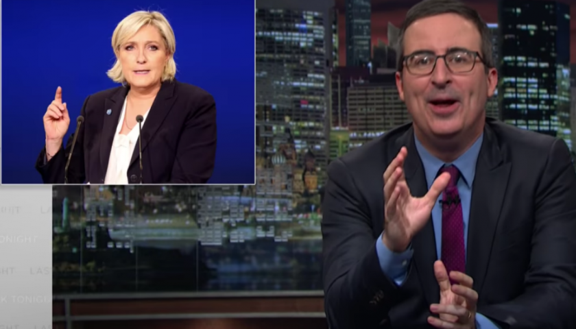 "screen shot 20170417 at 10 840x480 - John Oliver Really Does Not Want France to ""F— Up"" the Way the U.S. Did"