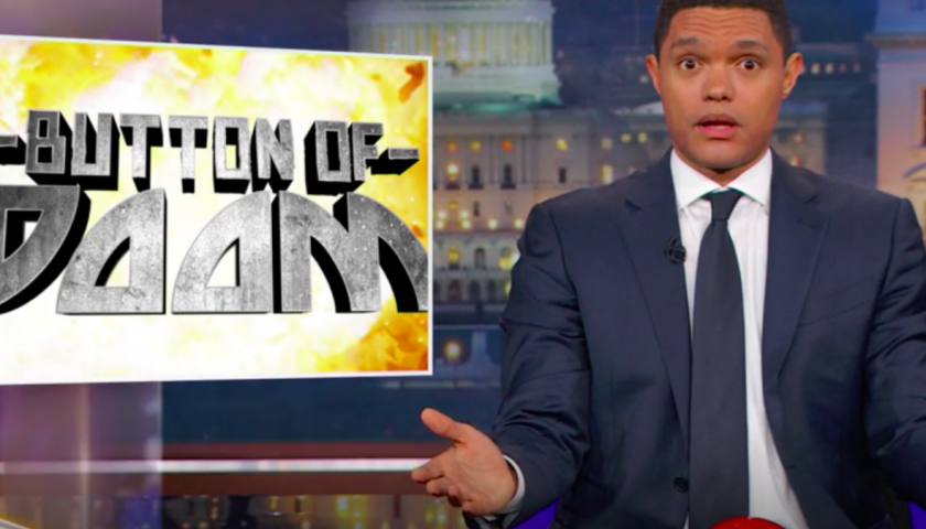screen shot 20170418 at 8 840x480 - Will World War III Start in Syria or North Korea? Trevor Noah Made Up a Whole Game Show to Figure It Out.