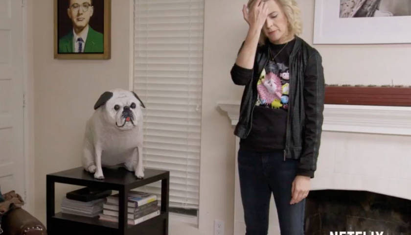 screen shot 20170424 at 3 840x480 - The Trailer for Maria Bamford's New Netflix Special Features Frank, Funny Stand-Up and a Stuffed Pug