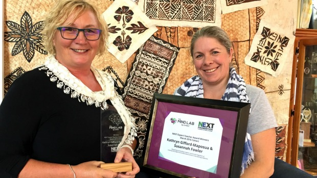 1493634256723 - Teachers awarded for bringing technology to classrooms in south Auckland