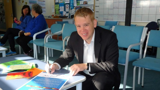 1493682154653 - Hipkins on hand for support staff campaign