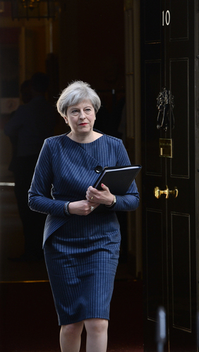 59073850318f9 who would people in ireland like to see in number 10 it s pretty close - Theresa May statement