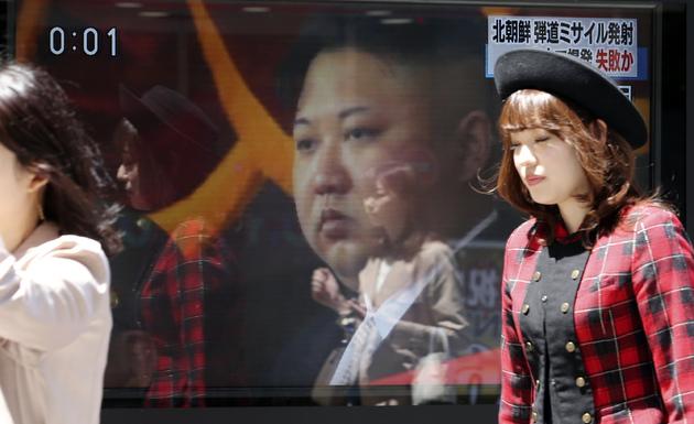 5907386b71cef trump calls north korean leader a pretty smart cookie but isn t sure if he s sane - Japan Koreas Tension