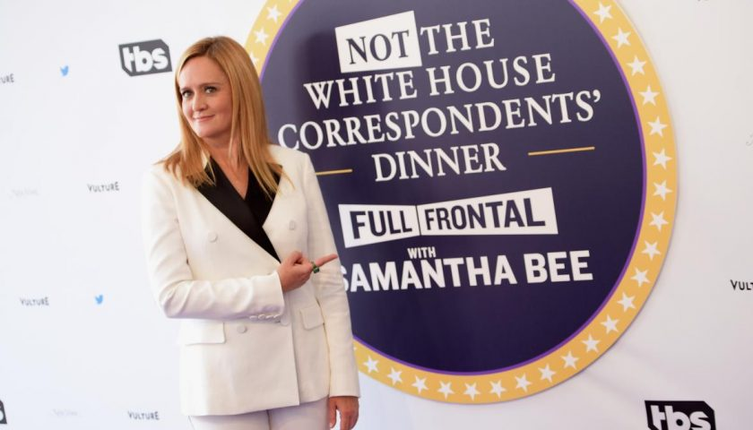 674840248 host samantha bee attends full frontal with samantha 1 840x480 - Samantha Bee's Not the White House Correspondents' Dinner Was Somehow Worse Than the Real Thing