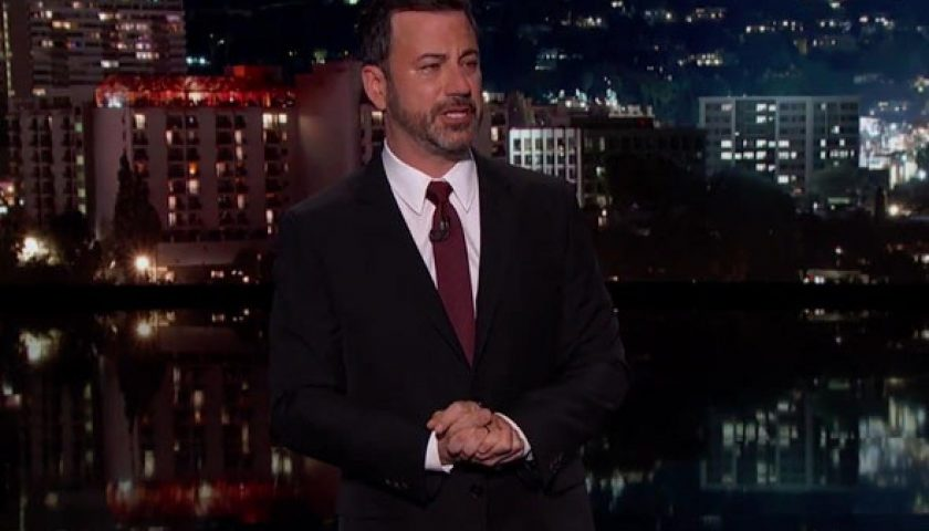 kimmelcrying 840x480 - A Teary-Eyed Jimmy Kimmel Talks About His Infant Son's Heart Disease; Blasts Trumpcare